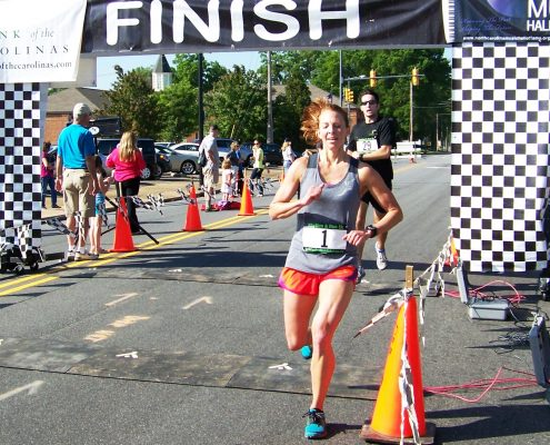 Rhythm & Run 5K #1 runner (womens)