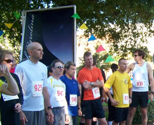 2016 Rhythm & Run 5k runners