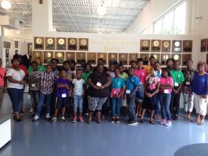 Students at North Carolina Music Hall Of Fame