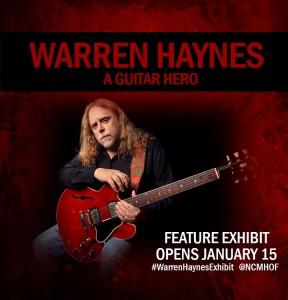 Warren Haynes Exhibit Popup
