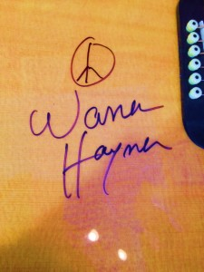 Warren Haynes Exhibit - Autographed Guitar