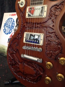Warren Haynes Exhibit - Carved Guitar
