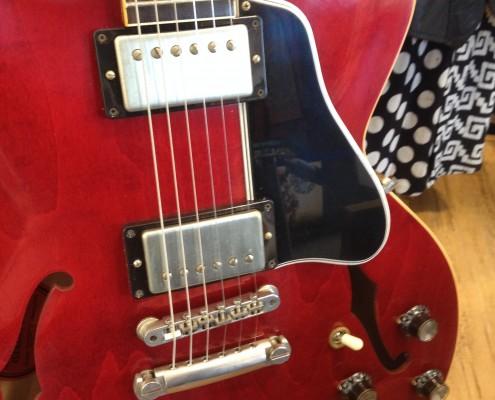 Warren Haynes Exhibit - Red Guitar